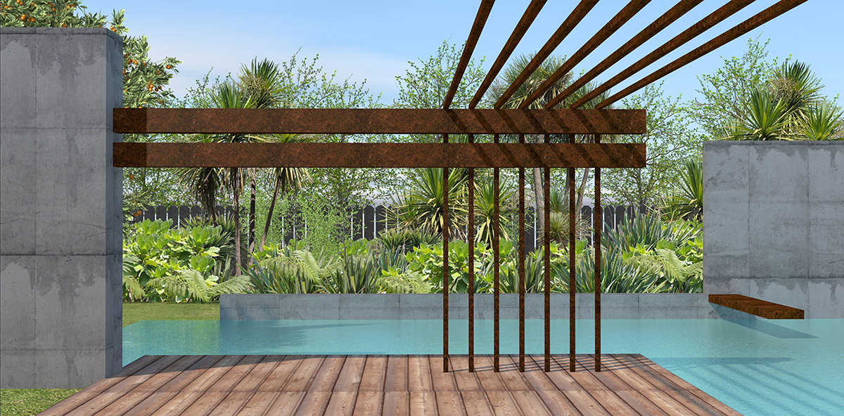 Plans For Swimming Pool And Landscape Projects