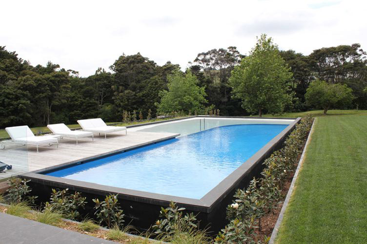 Swimming pools auckland innovation for Above ground swimming pools nz